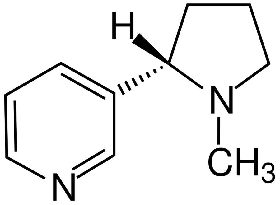 Molécule Nicotine - BAR à DIY