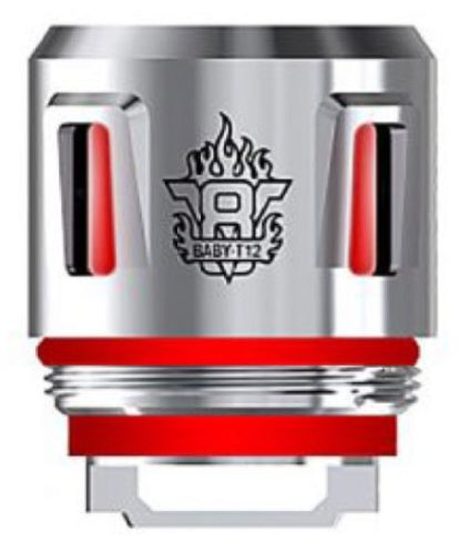 Résistances V8 Baby T12 Light Coil Smok Red Light