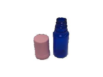 Flacon PET de 10 ML Bleu