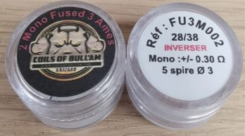 Mono Fused Clapton 2 Ames 26/38 Inverser