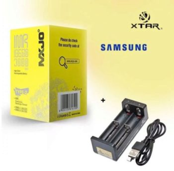 Pack chargeur Xtar + accus MXJO