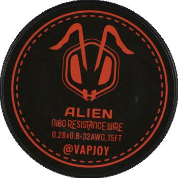 Flat Alien Wire 0.28x0.8+32AWG - 15ft